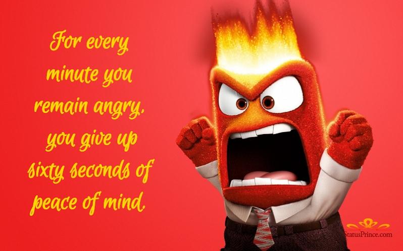 Angry status wallpaper
