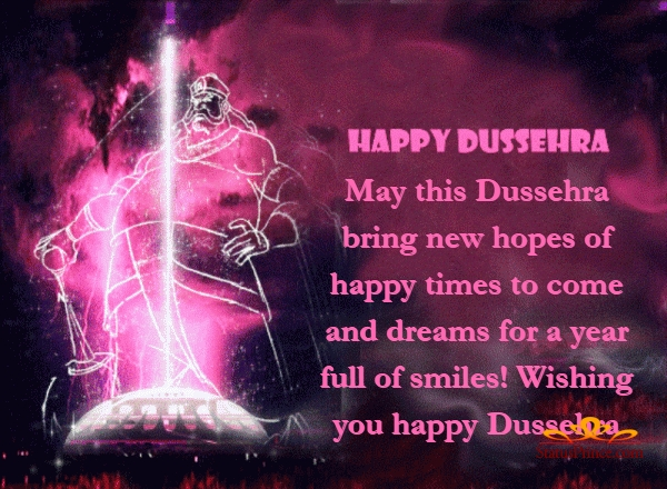 dussehra wishes english