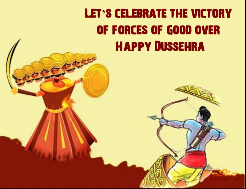 dussehra ka greeting card