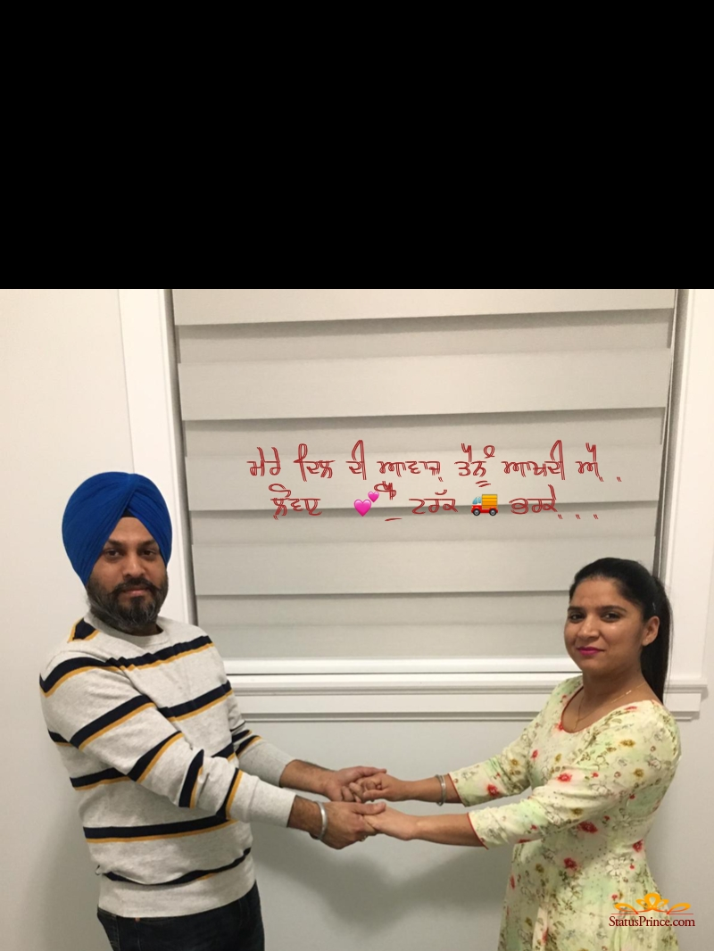 punjabi status on friends