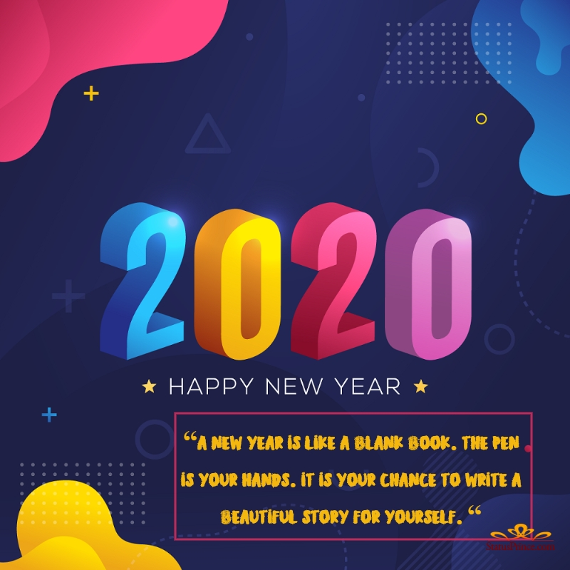 happy new year wallpapers in english