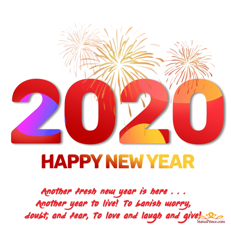 happy new year wallpapers english