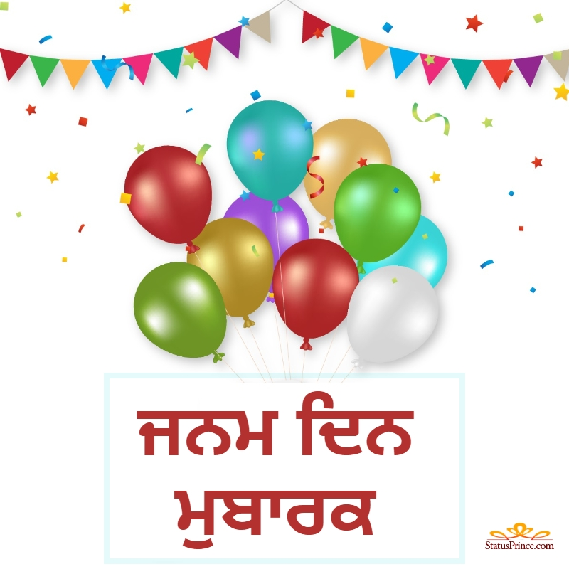 punjabi happy birthday brother