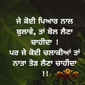 punjabi wisdom status