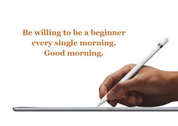 English Good Morning wallpaper