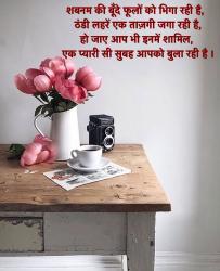 Hindi शुभ प्रभात wallpaper