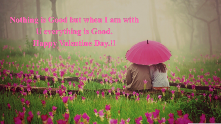 Valentine day quotes wallpaper