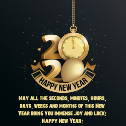 wishing you a happy new year wallpapers