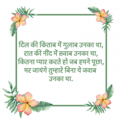 2 line good night shayari hindi