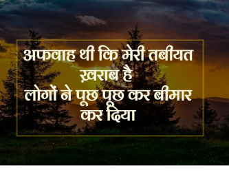 attitude quotes hindi shayri