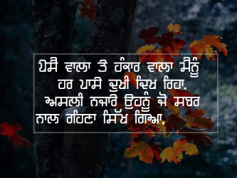 punjabi sad life quotes