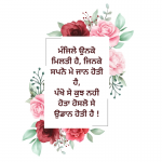 punjabi motivational quotes in hindi